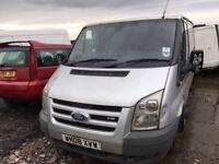 Ford transit Parts Available engine gearbox bumper bonnet wing light radiator