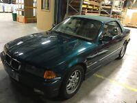 BMW 3 Series Cabriolet Leather Interior
