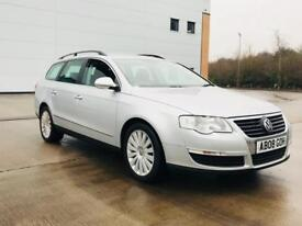2008 Volkswagen Passat tdi cr highline estate 5 door manual 140 bhp - Full VW Service History