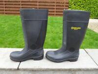 Brand new black Amblers safety steel toe cap wellies size 5 (EU 38)