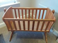 Wooden Crib For Sale