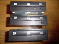 3x CD DVD Multi Recorder SATA 3.5