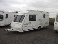 Elddis Avante 482 2 berth, LOW PRICE+ EXTRAS MOTOR MOVER, Porch awning, Rear washroom, CRIS checked
