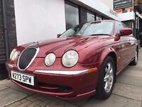 Jaguar S-Type 3.0 V6 4dr PARTS & LABOUR WARRANTY