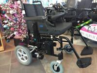 Wheeltech Enigma Folding Electric Wheelchair - Brand New Batteries