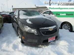 2011 Chevrolet Cruze LTZ Turbo * LEATHER * ROOF * HEATED POWER S
