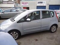 Mitsubishi Colt di-d equippe,5 door hatchback,2 keys,1 owner from new,very clean tidy car,YY54PNU