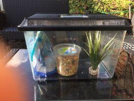 Fish tank as new