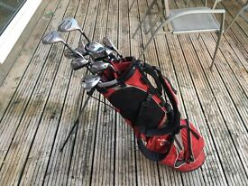 Slazenger Golf Club set and bag