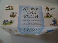 Winnie the Pooh complete set hardback books