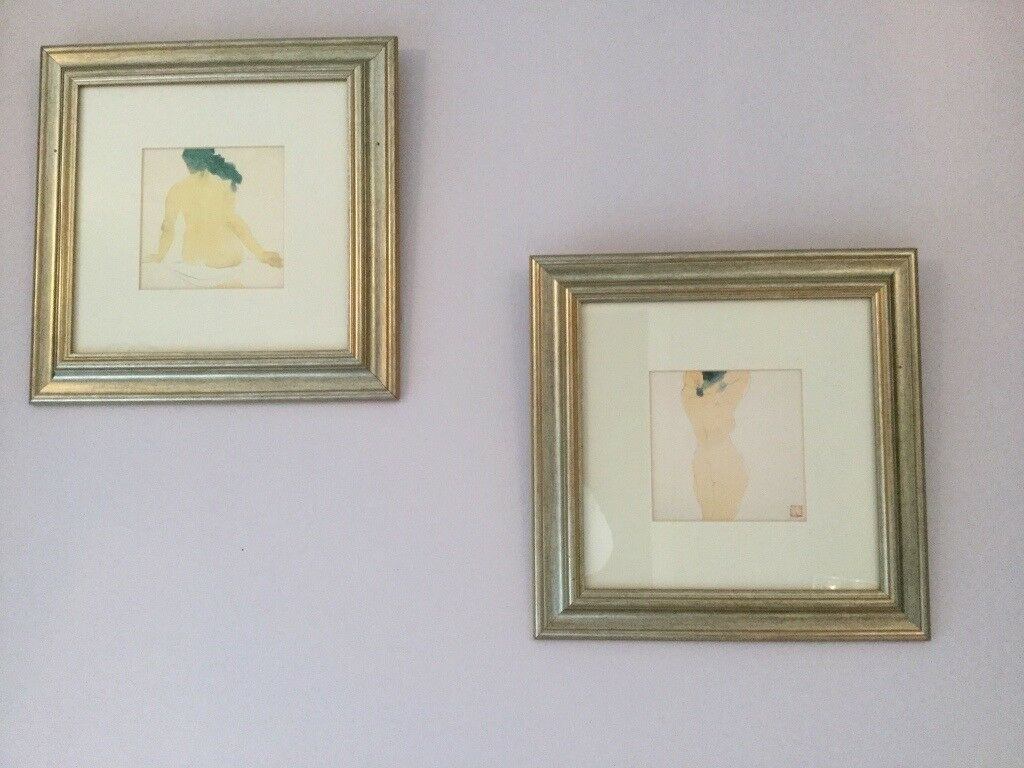 Two Nude Framed Prints