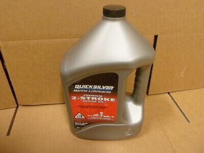 QUICKSILVER Marine 858022 2-Stroke Engine Oil, 2-Cycle, Petroleum, 1 Gallon 2 Stroke Oil 2 Cycle