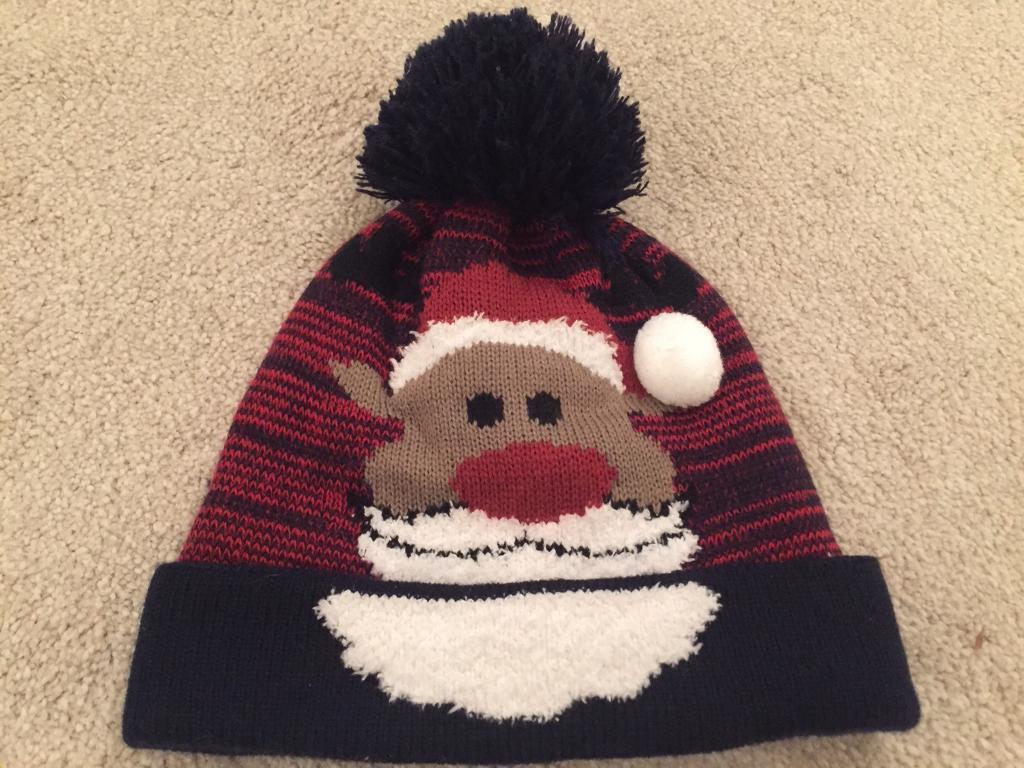 974af714bd381 Christmas Reindeer Beanie