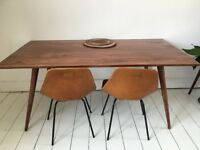 Solid sheesham wood Vintage dining room table bought a year ago, perfect condition