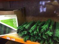 Dalebrook Garnish Green Cypress L=250MM Black Base x 160 pc ideal for Butchers / Delli