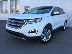 2017 Ford Edge SEL, AWD, LEATHER, PAN SUNROOF, NAV, BACKUP CAM.