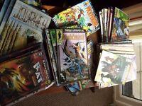QUANTITY OF COMICS, MARVEL ,DC IMAGE, MAXIMUM , GRAPHICOMIX.