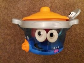 Leapfrog cook and playpotsy