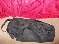 Petite Star buggy bag in black