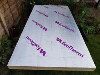 Ecotherm (Celotex Kingspan equivalent) 90mm PIR Insulation Board