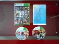 Gta v and map for xbox 360