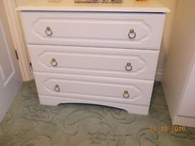 Wide Chest of Drawers / Bedside Table