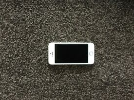 iPhone 5 s in silver and white, unlocked and in perfect condition. 16 gb. £125