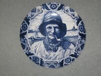 Two large Dutch plates