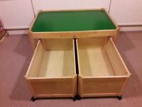 Pin Toys Playtable - beautiful piece in great condition