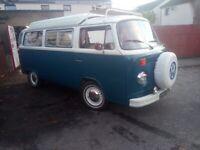 Vw T2 bay window campervan