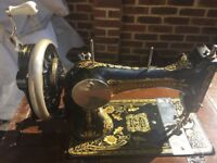 Frosted & Rossmann sewing machine