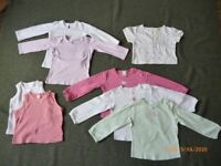 selection of girls clothes age 18-24 months