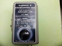 Marshall II Power Control Unit - Meccano Ltd