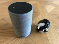 Amazon Echo (2nd gen) in Heather Grey