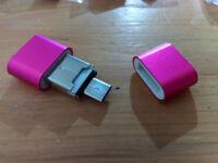 USB 2 Micro SDXC Card Reader & Micro USB OTG Adapter
