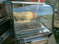 Commercial Electric Pie, Peri Peri chicken,food warmer, hot display cabinet.