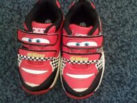 disney cars light up trainers