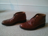 Massimo Dutti men´s boots brown leather size 40