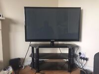 GRAB A BARGAIN!!! 43 INCH 1080 600Hz SAMSUNG PLASMA TV WITH STAND FOR £125.00!!COMES WITH ITS REMOTE
