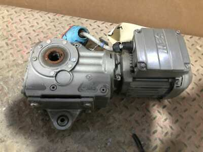 Sew-eurodrive Ka37t Drs71s4dh 12hp Gear Drivespeed Reducer 57rpm 29.961 3ph