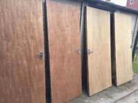 Doors x 4 Fire Rated (FD30)