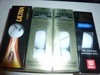 5 X 3 BOXES OF BRAND NEW OLD STYLE GOLF BALLS
