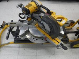 DeWalt Double-Bevel Mitre Saw + Stand - We Buy and Sell Pre-Owned Power Tools - 117225 - SR919405