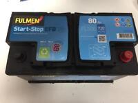 12v 80Ah car/boat battery. Brand new
