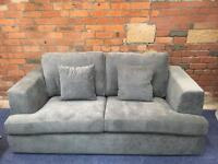 New NEXT Stratus Range Grey 2+3 Seater Sofa Suite - RRP £1900 - Can Deliver