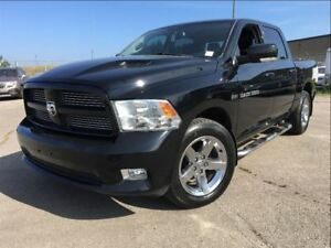 2012 Ram 1500 SPORT| CREW |LEATHER| DVD| NAVIGATION