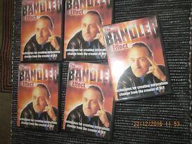 Self Development DVDs 5 disc set Health / Motivation / Confidence / Changing Habits / Creativity