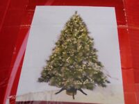 6ft Frosted Fibre Optic Christmas Tree