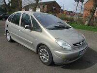 2003 CITREON XSARA PICASSO 1.6 DESIRE 2 5 DOOR PLENTY HISTORY FULL MOT LOW 95K LOVELY DRIVE PX SWAPS