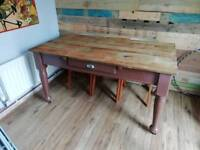 Large dining table upcycle
